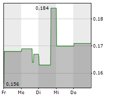 BEWHERE HOLDINGS INC Chart 1 Jahr