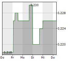 BLUE STAR GOLD CORP Chart 1 Jahr