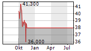 BRIDGESTONE CORPORATION Chart 1 Jahr