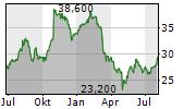 DOUGLAS DYNAMICS INC Chart 1 Jahr