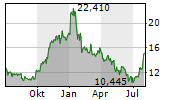 FORD MOTOR COMPANY Chart 1 Jahr
