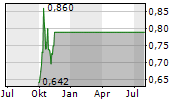 FOSTERVILLE SOUTH EXPLORATION LTD Chart 1 Jahr