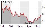 GROUPON INC Chart 1 Jahr
