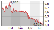 LEE & MAN PAPER MANUFACTURING LTD Chart 1 Jahr