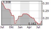 MAANSHAN IRON & STEEL CO LTD Chart 1 Jahr