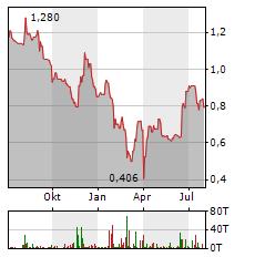 MVISE Aktie Chart 1 Jahr