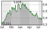 NET INSIGHT AB Chart 1 Jahr