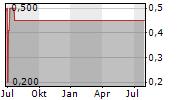 OI SA ADR Chart 1 Jahr