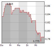 PEPKOR HOLDINGS LIMITED Chart 1 Jahr
