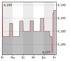 RED PINE EXPLORATION INC Chart 1 Jahr
