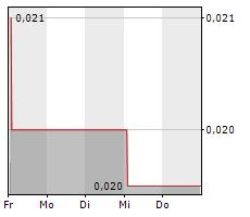 SLANG WORLDWIDE INC Chart 1 Jahr