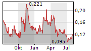 SPANISH MOUNTAIN GOLD LTD Chart 1 Jahr