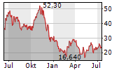 SUNRUN INC Chart 1 Jahr