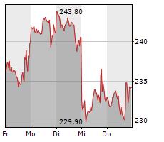 TESLA INC Chart 1 Jahr